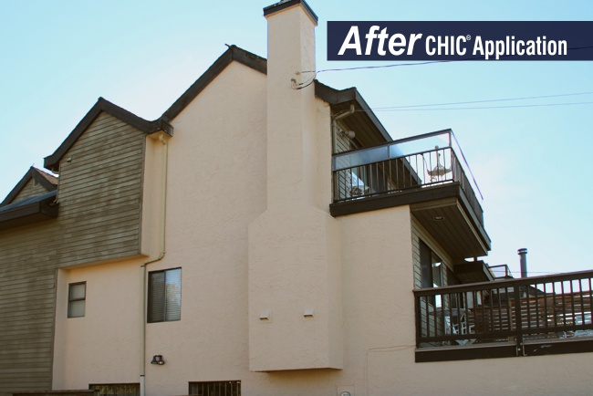 California Stucco After CHIC Advanced Coating