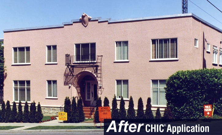 CHIC Liquid Vinyl provides a long lived beautiful finish.