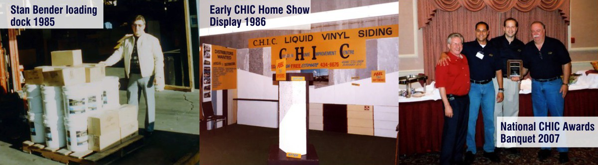 Photos of Stan Bender, and Early Home Show, and a CHIC Dealer Conference.