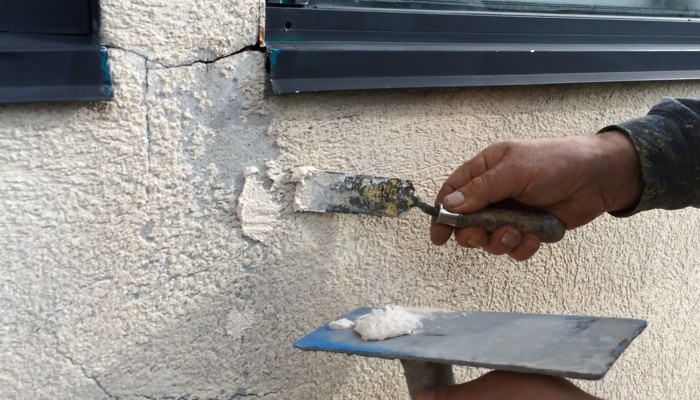 The Authorized Dealers in the CHIC Network specialize in stucco repairs, done prior to coating.